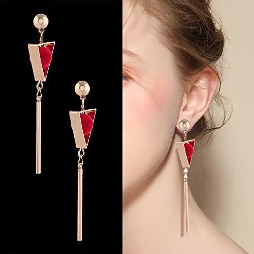Orecchini lunghi ad alto senso temperamento femminile orecchini di perle orecchini orecchini gioielli3