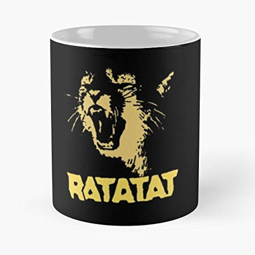 lridescent Cats Ratatat Band Wildcat Wild Pipes Cat Loud Best 11 oz Kaffeebecher - Nespresso Tassen Kaffee Motive