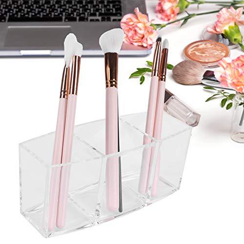 QIRG Bandeja organizadora de Maquillaje, Caja de Almacenamiento de cosméticos Caja de Almacenamiento de Escritorio multifunción Recipiente de Maquillaje para joyería para lápices labiales para