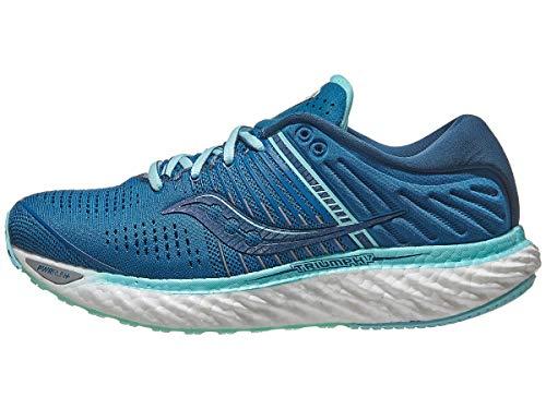 Saucony Damen Triumph 17 Blue/Aqua Leichtathletik-Schuh, 39 EU
