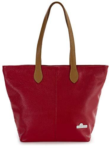 LiaTalia damestas – echt lederen tas – medium hobo schoudertas – gemaakt van 100% Italiaans leer – stijlvol & elegant design – top kwaliteit damesportemonnee - TIA