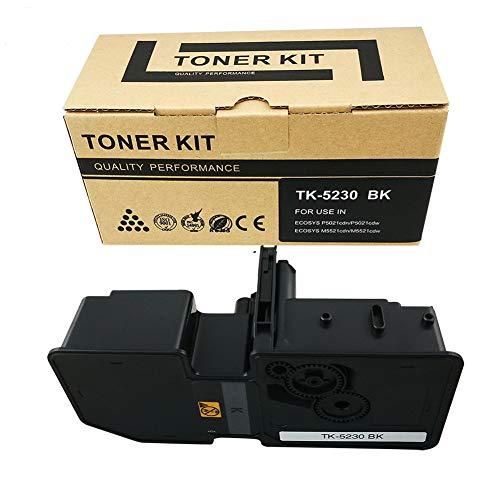 VICTORSTAR @ Cartucho de Tóner Compatible TK5230   TK-5230 para Impresoras Láser Kyocera ECOSYS P5021cdn, P5021cdw, M5521cdn, M5521cdw (Black)