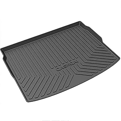 Alfombra Protector Maletero Coche Goma Personalizadas para Nissan Qashqai 2016-2019, Antideslizante Impermeable Alfombrilla para el Maletero Accesorios Coche Interior Decorativos