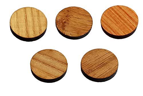 Imanes magnéticos magnéticos magnéticos de neodimio para nevera, para cocina, oficina, escuela, regalo respetuoso con el medio ambiente (redondo, 25 mm)