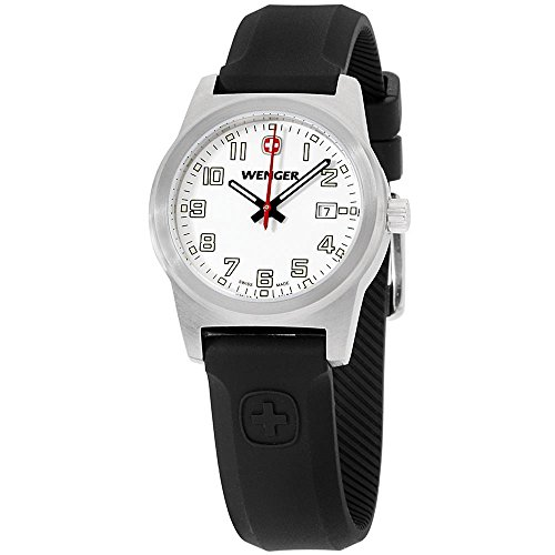 Wenger Field Classic Quartz Movement White Dial Ladies, White, Size No Size