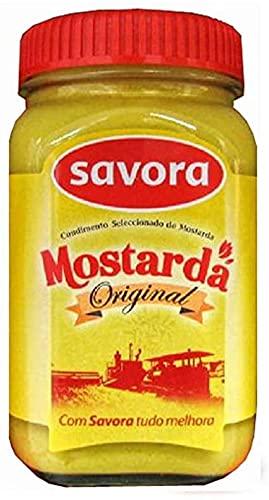 Savora, Origineller Portugiesischer Senf, Superqualität, 190 g