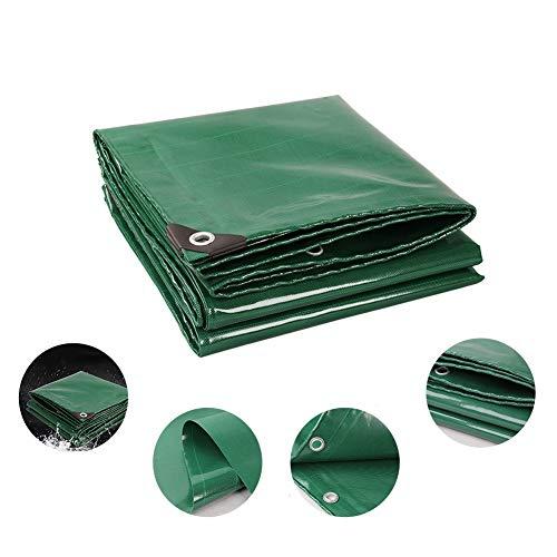 ZHANGGUOHUA ¡Cubrir!Lona 4 X 5 M + 12 Tensores De Lonas Lona I Protección con Ojales De Metal For Muebles De Jardín, Piscina, Coche (Color : Green, Size : 3 * 5m)