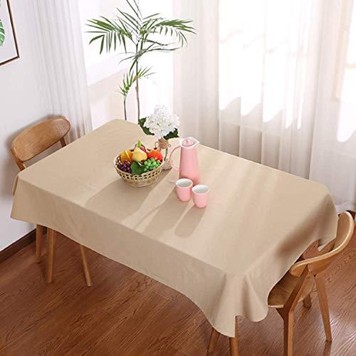 HEZESHOP Mantel al Aire Libre Mantel de Estilo nórdico Simple Impermeable Restaurante Hotel Hogar Mantel 140X180CM