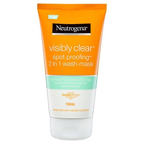 Neutrogena visiblement effacer proofing spot 2-in-1 wash-mask, 150ml