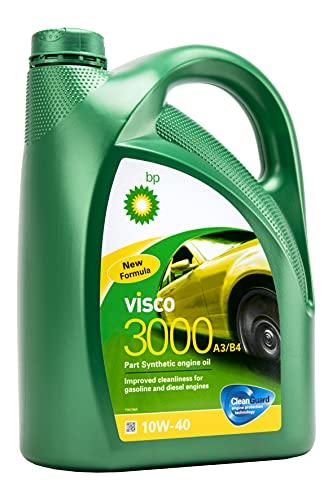 BP BPV310405 VISCO Aceite DE Motor para Coches 3000 10W40 5L, 5 L