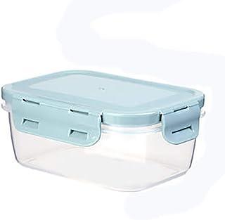 Yaosh Pudełko na żywność układane w stos z plastikowymi tackami pokrywki hermetyczne pojemnik do zapłacić klips plastikowe...