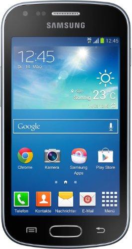 Samsung Galaxy Trend Plus - Smartphone Libre Android (Pantalla 4', cámara 5 MP, 4 GB, 786 MB RAM), Negro [Importado]