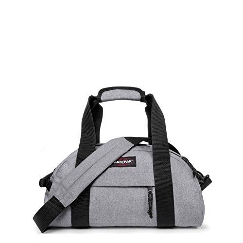 Eastpak Compact Bolsa de Viaje, Diseño Sunday, 23 Litros, Color Gris