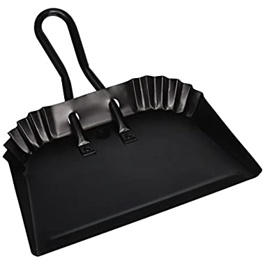 MintCraft Pro DL-5004 Dust Pan, 12-Inch, Black Finish