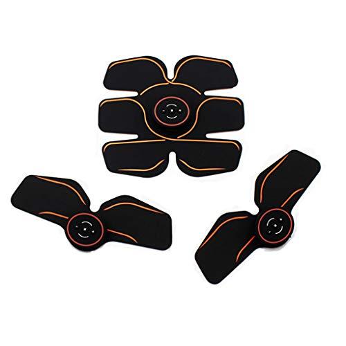LANA Bauch-Massagegerät Abs Trainer, Bauchmuskelstimulation Rouge Gürtel Muscle Gym Training und...