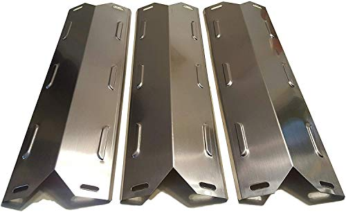 Hisencn Set of Three Stainless Steel Heat Plates for Select Kenmore Gas Grill Models