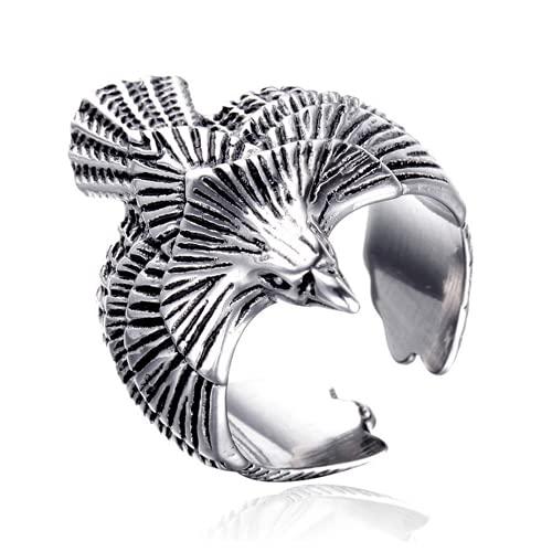 Xbypsl Anillos de Anillo de Dedo Gótico Personal Ring
