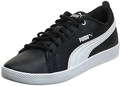 Puma Smash Wns V2 L - Scarpe da Ginnastica Donna, Nero (Puma Black-Puma White), 38 EU