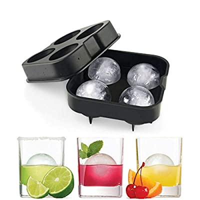 Ice Cube Trays, Silicone Sphere Whiskey Ice Bal...