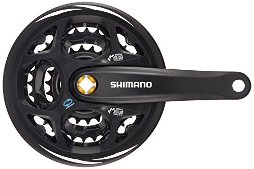 Shimano Deore, Guarnitura, Nero, M