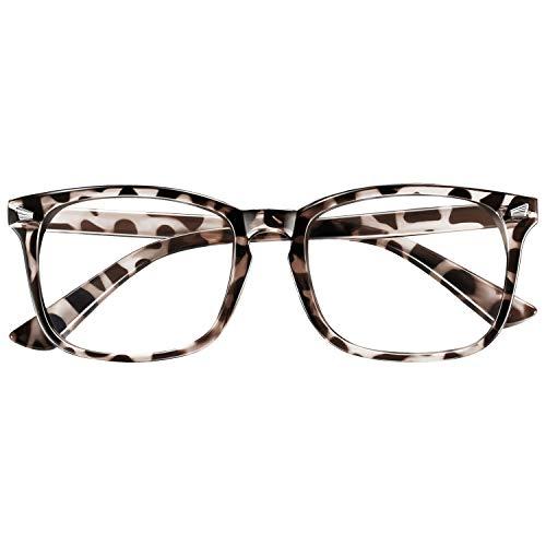 occhiali antiaffaticamento uomo Occhiali Luce Blu Donna Uomo Occhiali Anti Luce Blu Occhiali con Filtro per Luce Blu UV Anti-riflesso e Anti-affaticamento Degli Occhi per PC Gamming Computer