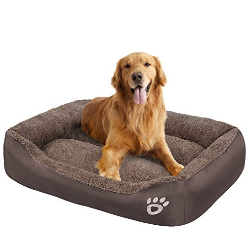 OQQ Pet Dog Bed for Medium Dogs, Dog Bed with Machine Washable Comfortable and Safety for Medium and Large Dogs Or Multiple