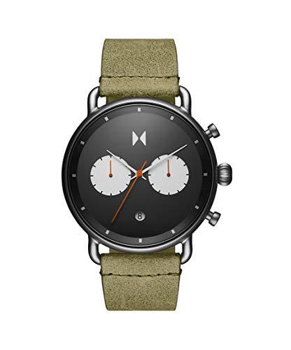 MVMT Herren Analog Quarz Uhr mit Kalbsleder aus Leder Armband 28000007-D