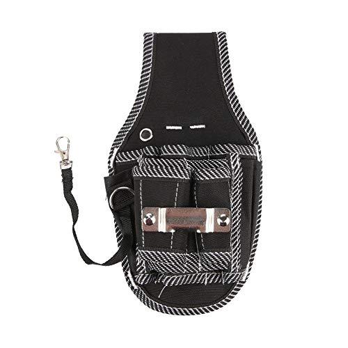 Bolsillo para herramientas, bolsa de herramientas, bolsa de herramientas, bolsa de cintura para herramientas de electricista, porta organizador de herramientas con múltiples bolsillos Bolsa de cinturó