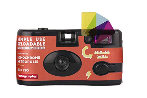 Lomography Semplice Uso Ricaricabile Film Camera LomoChrome Metropolis