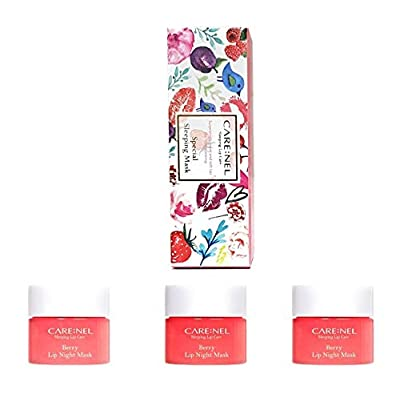 CARENEL Korean Cosmetics Lip Sleeping Mask 5G ( 3 Set ) / Maintaining Moist Lips All Day Long by CARENEL