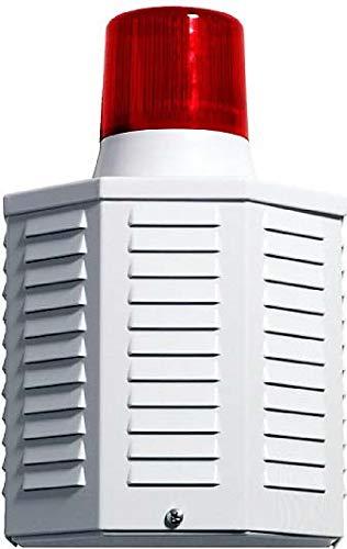 Indexa Verdrahtete Aussensirene AS 14 Blinklicht,Alugehäu Optisches/Akustisches Signalgerät 4015162331851