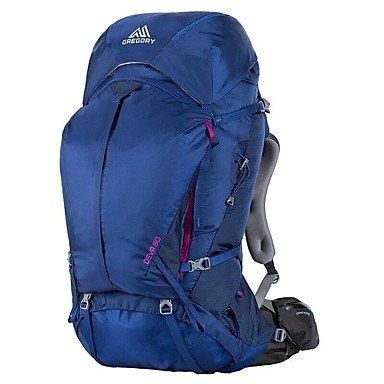 BBYaKi 70 L Sac À Dos De Randonnée Escalade Sport De Détente Camping & Randonnée Multifonctionnel , Dark Blue