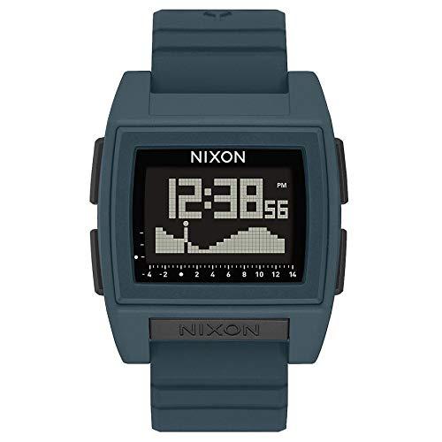 Nixon Reloj Digital para Unisexo de Automático Chino con Correa en plástico A1282-2889-00