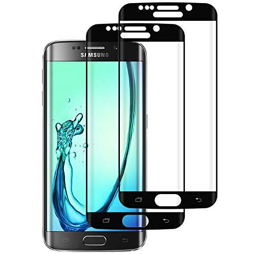 DOSMUNG Panzerglas für Samsung Galaxy S6 Edge, [2 Stück] Panzerglasfolie Schutzfolie für Galaxy S6 Edge - Anti-Kratzer, Anti-Öl, HD Transparenz, Anti-Bläschen
