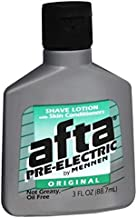 Afta Pre-Electric Shave Lotion With Skin Conditioners Original 3 oz (Pack of 2)