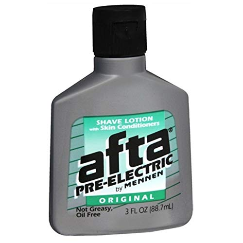 Afta Pre-Electric Shave Lotion With Skin Conditioners Original 3 oz (Pack of 3)