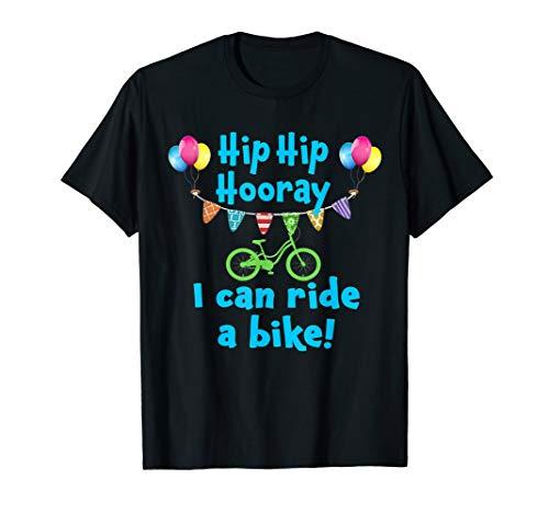 Best Boys Riding a Bike No more Training Wheels T-Shirt