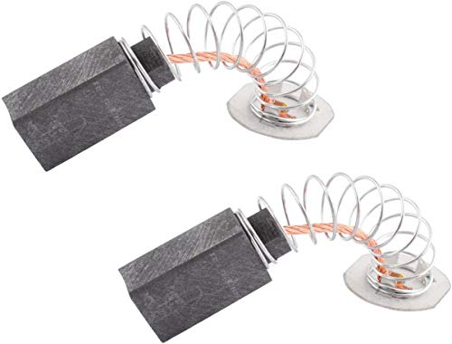 DW705 DW708 Brushers Carbon Motor Miter Saw Brushes Set Replace for De-walt 145323-06 145323-02 & 145323-03 by Wadoy (2 Packs)
