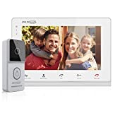 JSLBTech Video Doorbell,4-Wire 7 Inch Monitor Video Door Phone Intercom System with IR Night Version,Dual-Way Ring Doorbell,Support Remote Unlock,Monitoring,Automatic Recording/Snapshot