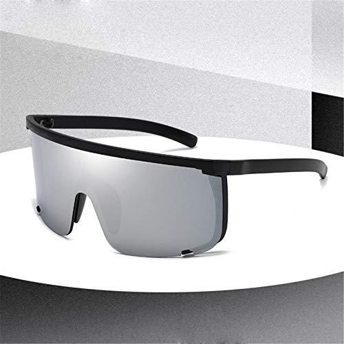 ZLLOO Gafas de sol deportivas para hombres Gafas de ciclismo al aire libre Gafas de seguridad Gafas para pesca, esquí, golf, resistente a los arañazos (D)