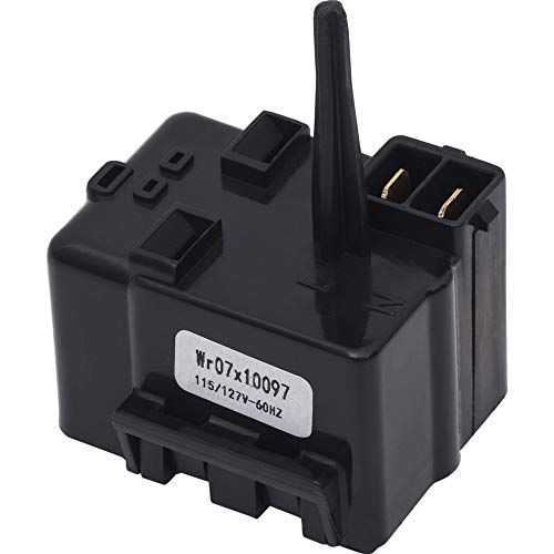 Ultra Durable WR07X10097 Relay and Overload Assembly Replacement Part by Blue Stars - Exact Fit For GE Refrigerators - Replaces 1265640 AP4300623 PS1766101