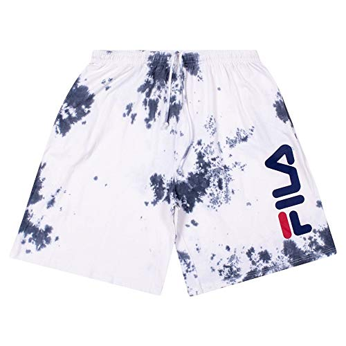 Fila Shorts for Men, Big and Tall Mens Shorts, Tie Dye Basketball Shorts for Men