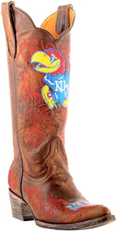 NCAA Womens Ladies 13 Inch University Kansas Gameday Boot