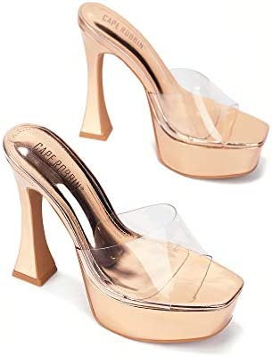 Clear high heel boots _image2