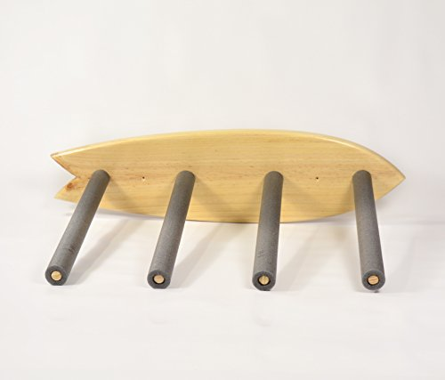 05 Art Deco. Soporte Tablas Rack Surf Natural