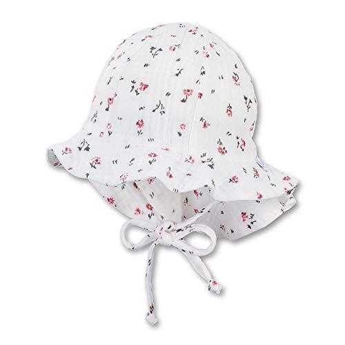 Sterntaler Baby-Mädchen Flapper 1402121 Hut, Ecru, 45
