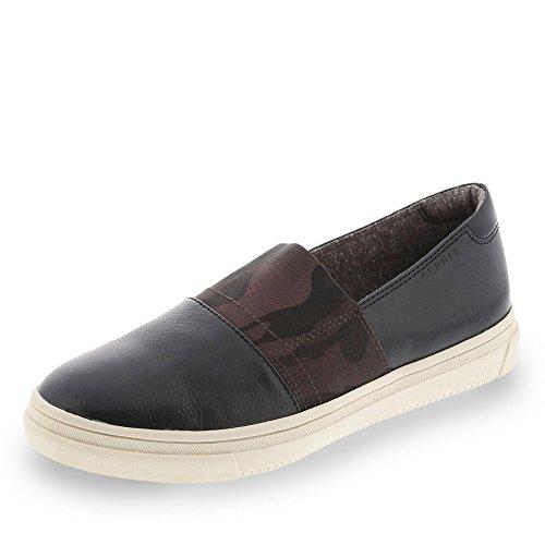 ESPRIT Marken-Slipper schwarz Größe 40