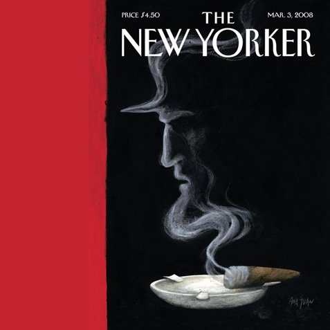 The New Yorker (March 3, 2008) cover art