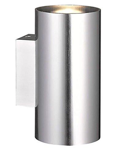 BRANDSSELLER LED buitenwandlamp dubbele spot massieve wandlamp buitenlamp wandspot aluminium - 14W - 890 lumen - warme toon - IP54