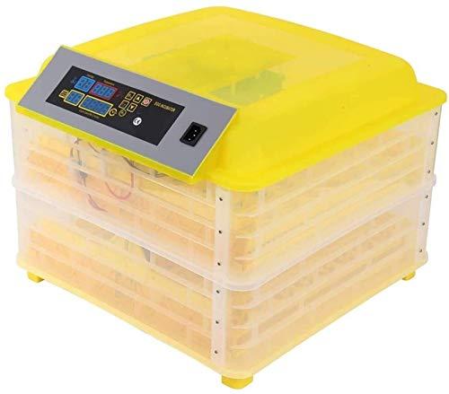 LYRONG Incubadora de Huevos Automática, Incubadora Digital con Control de Humedad y de Temperatura Máquina, función de Giro automático de Huevos, para Aves de Corral,112 Eggs